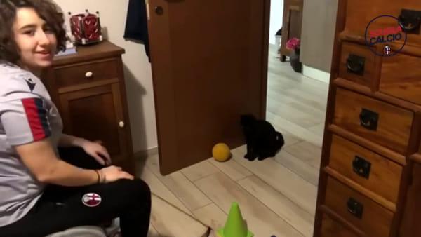 VIDEO | Coronavirus: la Scuola Calcio del Bologna si allena da casa