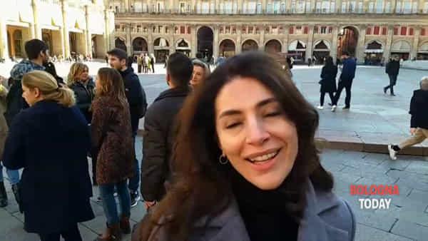 Caterina Murino in piazza Maggiore | Video
