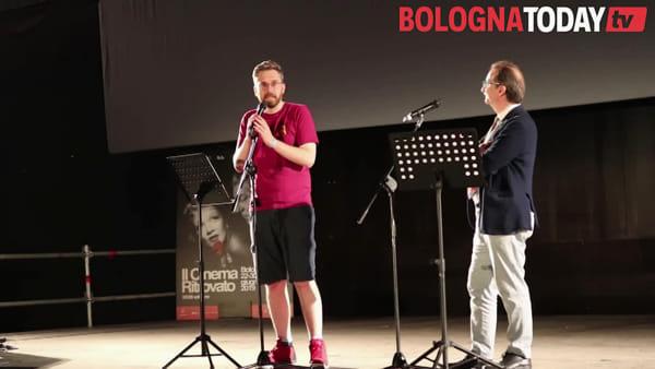 """In piazza Maggiore inaugura """"Il cinema più bello del mondo""""\VIDEO"""