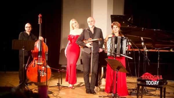 """Mirada de tango quartet in concerto alla rassegna """"i suoni degli angeli"""""""
