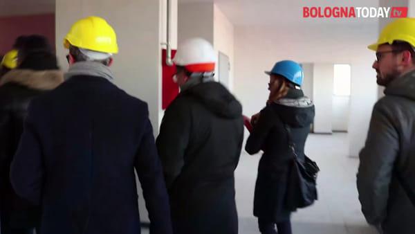 Nel cantiere del nuovo campus Navile dell'Alma Mater | VIDEO