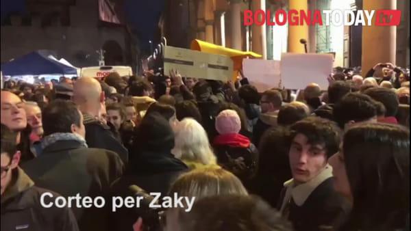 VIDEO| In migliaia al corteo per la liberazione di Zaky