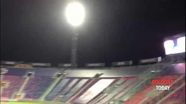 Partita delle leggende Bologna - Real Madrid, gli storici cori per le vecchie glorie | VIDEO