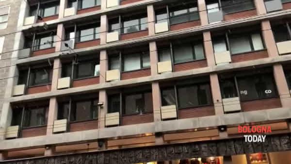 VIDEO| Primi fiocchi di neve su Bologna