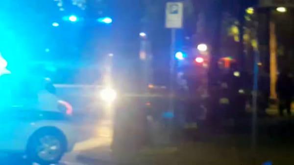 VIDEO | Incendio in via Marzabotto, intervengono i Vigili del Fuoco
