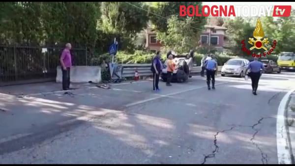 Grave incidente sulla Porrettana | VIDEO