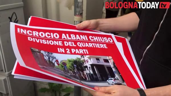 """""""Ecco perché non vogliamo il tram"""": protesta e blocco traffico in Bolognina\VIDEO"""