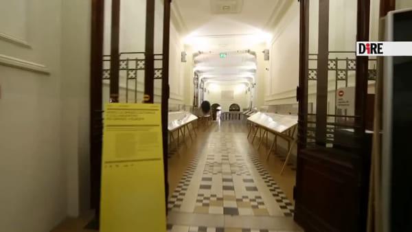 Ecco il Corridoio del Bramante che collega Sala Borsa a Palazzo D'Accursio\VIDEO