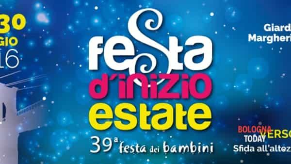 """""""Festa di inizio estate - 39° festa dei bambini"""" ai Giardini Margherita"""
