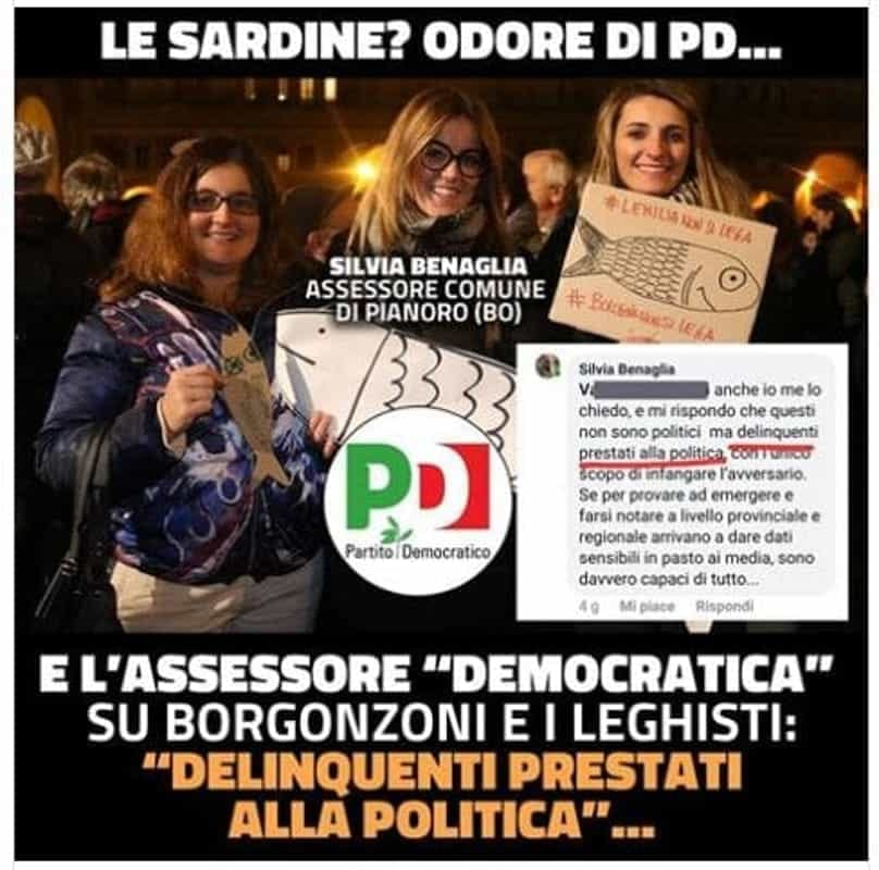 Salvini e Borgonzoni vs l'assessora di Pianoro: post ...