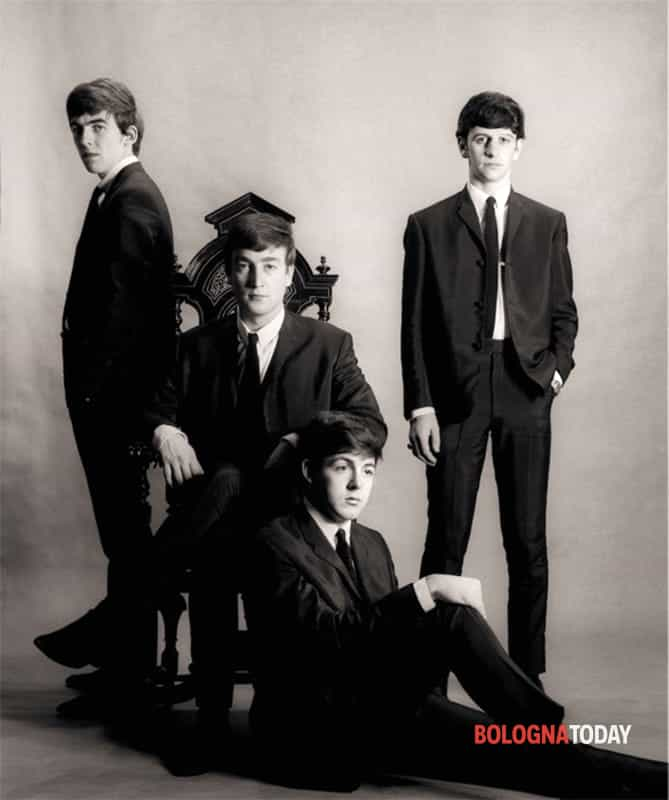 astrid kirchherr with the beatles-4