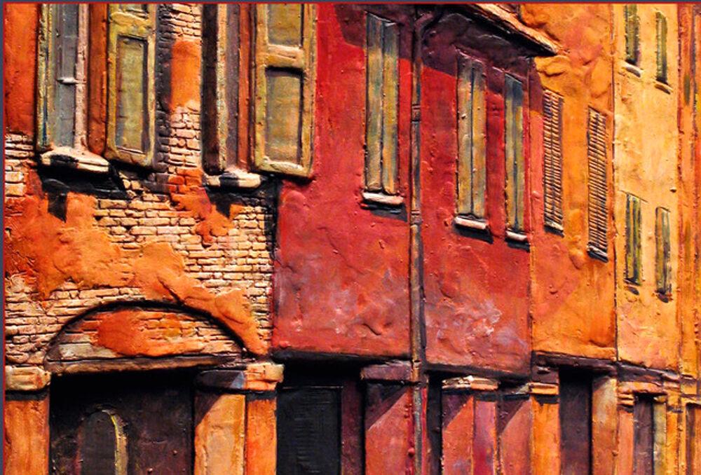 """""""Sotto il segno dei portici"""": i bassorilievi dipinti di Ivan Dimitrov"""