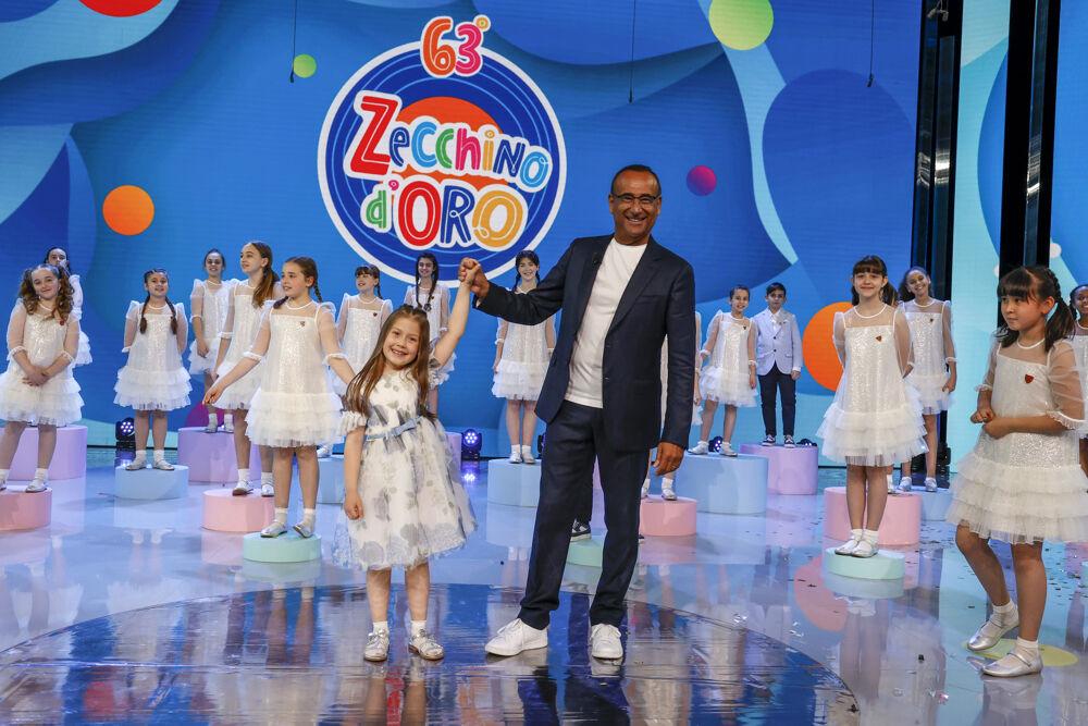 63° Zecchino d'Oro, vince la piccola Anita con il brano firmato da Simone Cristicchi